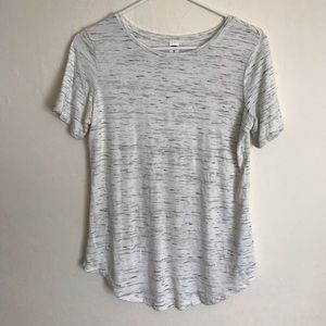 Old Navy white loose fit top shirt